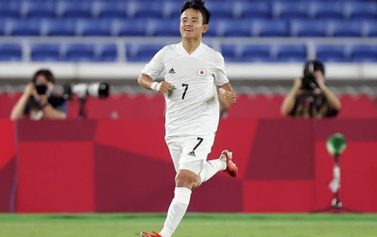 Olympics-Soccer-Kubo comes of age as playmaker leads Japan into quarters