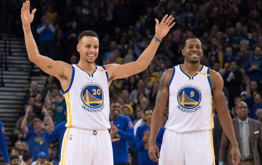 Andre Iguodala describes Steph Curry's 'generational effect' on NBA