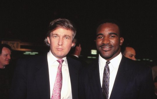 Former President Donald Trump will commentate Evander Holyfield's comeback fight