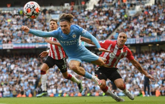 Manchester City fit to be tied vs. Southampton