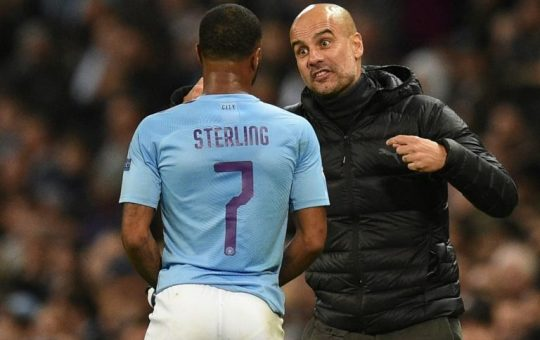 Guardiola wants Sterling to stay and fight for Man City future